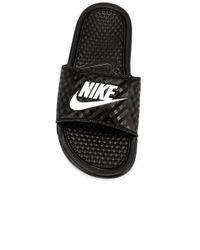 Nike Benassi Jdi スライド Black