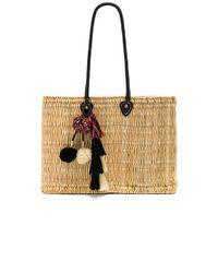 MISA - Black Jane Large Box Bag - Lyst