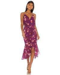 LPA Purple Luma Dress