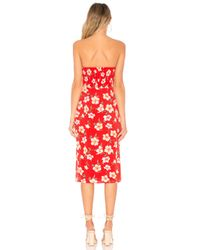 MAJORELLE Red Cookie Dress