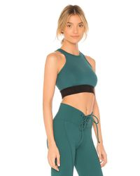 Year Of Ours Green Claudia Sports Bra