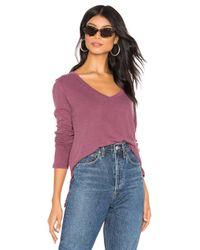 Lamade Purple Raya Long Sleeve Top