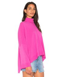 Nude - Pink Turtle Neck Pullover Sweater - Lyst