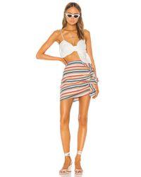 Shaycation Multicolor X REVOLVE Elsie Mini Skirt