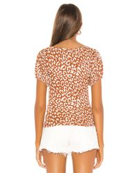 T-shirt No Type Free People en coloris Brown