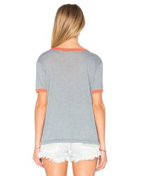 Wildfox - Multicolor Destroyed Tee - Lyst