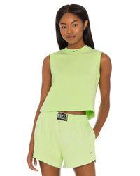Nike Green NSW Wash Tank