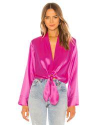 Michelle Mason Kimono ブラウス Pink