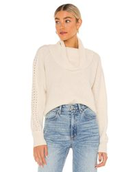PAIGE White Brynlee Sweater
