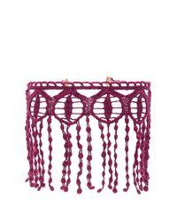 Natalie B. Jewelry Purple Beverly Choker