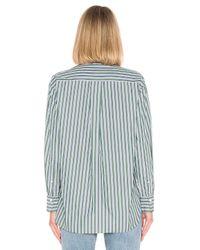 Rag & Bone Green Audrey Shirt