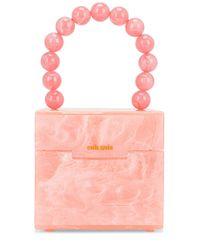 SAC FOURRE-TOUT EOS Cult Gaia en coloris Pink