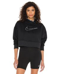 Nike Black Thermal Crop Sweatshirt