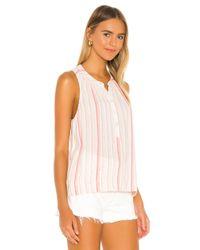 Splendid Sunshade Stripe タンクトップ Pink