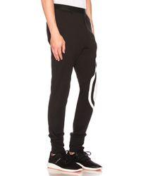 Y-3 - Black 3 Stripes Pant for Men - Lyst