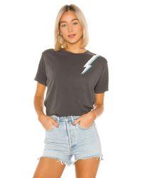 David Lerner Lightning Bolt Tシャツ Black
