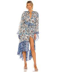 MISA Los Angles Octavia ドレス Blue