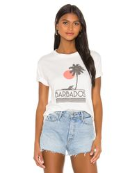 David Lerner Barbados グラフィックtシャツ White