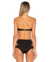 Beach Riot Black Lex Top