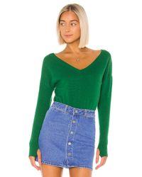 27 Miles Malibu Green Charline Sweater