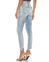"RTA Blue Skinny-Jeans ""Madrid"". Size 26."