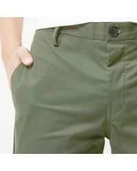 River Island Green Slim Fit Pants for men