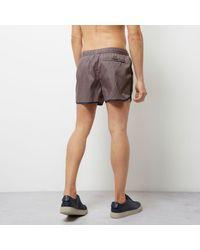 River Island Dark Purple Short Swim Shorts for men