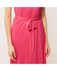 River Island Pink Crepe Belted Tunic