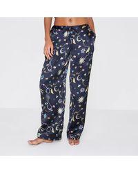 River Island | Navy Blue Jewel Print Pyjama Trousers Navy Blue Jewel Print Pyjama Trousers | Lyst