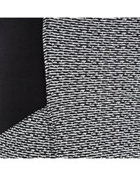 River Island Gray Grey Basket Weave Print Leggings