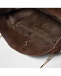River Island Brown Suede Tassel Front Slouch Chain Bag Brown Suede Tassel Front Slouch Chain Bag