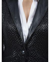 Robert Graham - Black Sloan Leather Jacket - Lyst