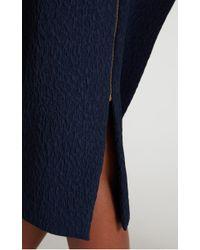 Roland Mouret - Blue Arreton Skirt - Lyst