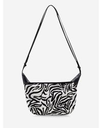 Rosegal Multicolor Zebra Stripes Pattern Casual Shoulder Bag