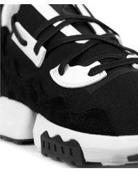 Y-3 Zx Torsion Sneakers Black