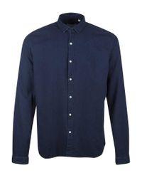 Oliver Spencer - Blue Kildale Rinse Shirt for Men - Lyst