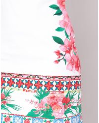 Desigual White Poalza Dress