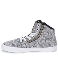 Supra Gray Cuttler Shoes (high-top Trainers)