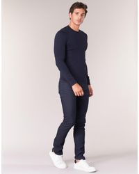 Armani Jeans Blue Memel Sweater for men