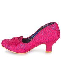 Irregular Choice Pink Dazzle Razzle Heels