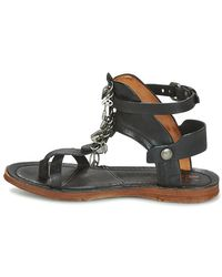 Airstep / A.S.98 Black Ramos Sandals