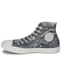 Converse Gray Ct Rept Prt Hi Shoes (high-top Trainers)