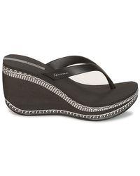 Ipanema Black Lipstick Thong Vi Flip Flops / Sandals (shoes)
