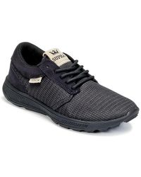 Supra Black Hammer Run Shoes (trainers)