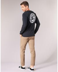 DC Shoes Black Circle Star Ls M Tees Kvj0 Long Sleeve T-shirt for men