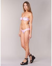 Rip Curl - Pink Fiesta Bandeau Set Bikinis - Lyst