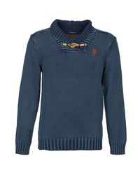 Desigual Blue Wilem Sweater for men