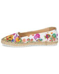 Desigual Multicolor Gabriela Women's Espadrilles / Casual Shoes In Multicolour