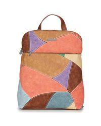 Desigual Brown Jackie Nanaimo Backpack