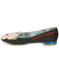 Irregular Choice Black Boo! Hiss! Heels